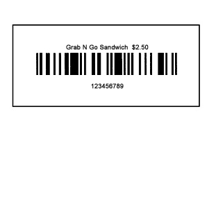 Barcode Sample
